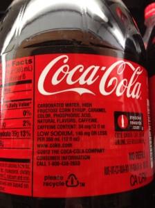 Coke HFCS