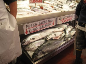 Pike Place Market Salmon